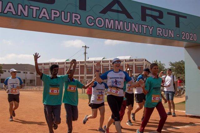 Ultramaratón Anantapur 2020