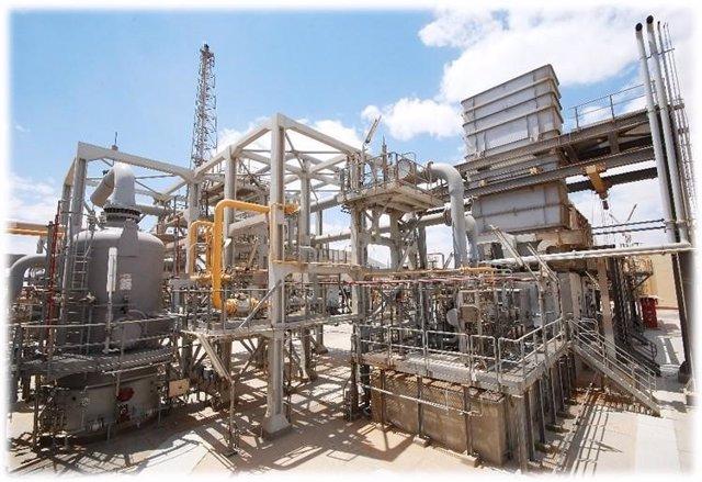 Estación de compresión de gas de Dahshour, Egipto, que Sacyr ampliará