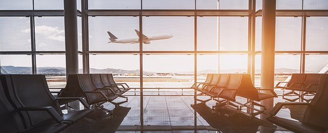 El tráfico internacional de pasajeros cayó un 60% en 2020
