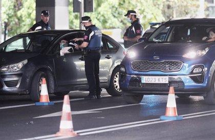 Policía de Madrid controló la última semana a 9.800 personas y 5.700 coches en ZBS y puso 1164 multas por toque de queda