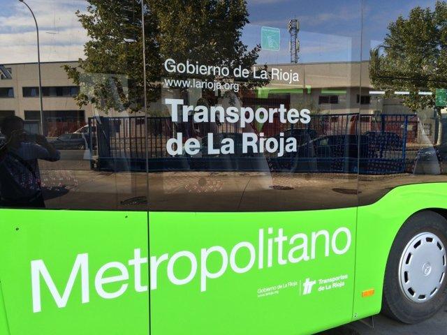 Línea Autobuses Metropolitano de La Rioja