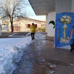 Dispositivo Geacam en centros escolares ante el temporal.