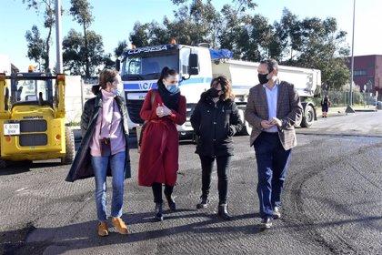 Comienzan las obras de reordenación de tráfico en la calle La Peseta de Nueva Montaña