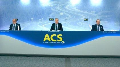 ACS repartirá un dividendo de 0,452 euros el 9 de febrero