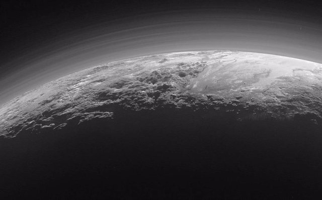Neblina en la atmósfera de Titán
