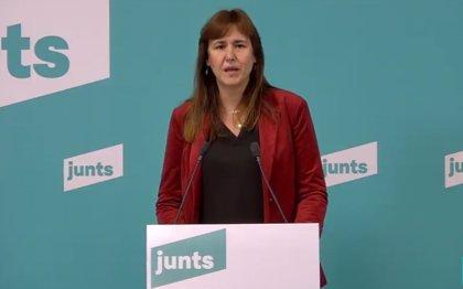 """Borràs (JxCat) ve la decisión del TSJC como """"una nueva injerencia"""" en la política catalana"""