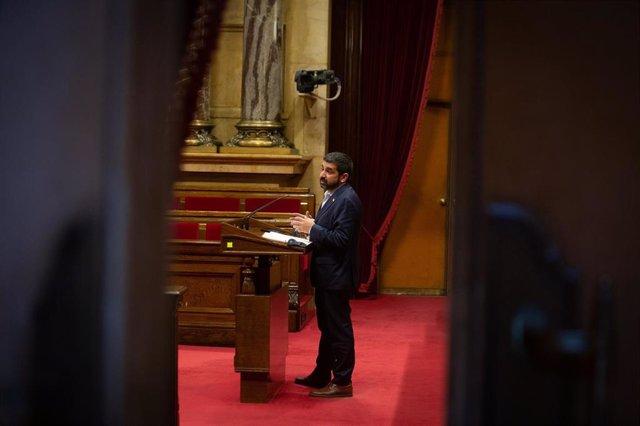 El conseller de Trabajo, Asuntos Sociales y Familias de la Generalitat de Catalunya, Chakir El Homrani