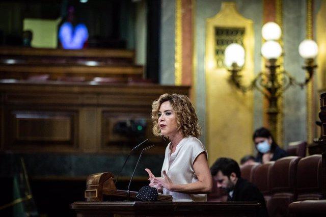La diputada de Ciudadanos (Cs) en el Congreso Marta Martín