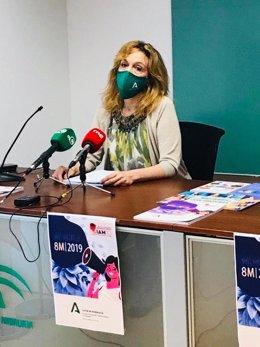 Ana Fidalgo, asesora de programa del Instituto Andaluz de la Mujer (IAM) en Cádiz en una imagen de archivo