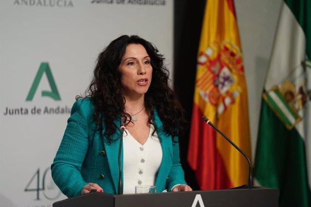 Rocío Ruiz, este martes