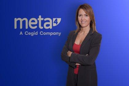 Cegid nombra a Patricia Santoni directora general de Meta4 Iberia