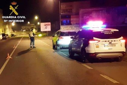 Interceptado en Lalín (Pontevedra) un menor que conducía sin permiso y bajo los efectos del alcohol