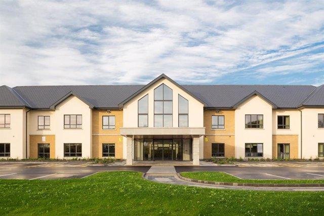 Complejo geriátrico de Trinity Care en Irlanda