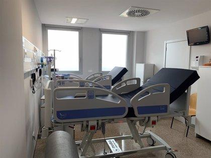 El Hospital Arnau de Vilanova de Lleida amplía la capacidad de la UCI