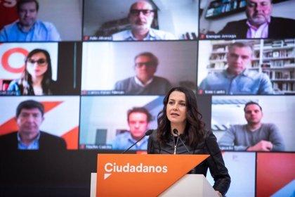 Arrimadas se reúne este miércoles en Sevilla con Moreno y Espadas y preside la constitución del Comité Autonómico de Cs