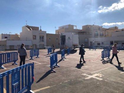 Los cribados en Sorbas y Carboneras (Almería) acaban con ocho positivos tras asistir el 53% de los citados