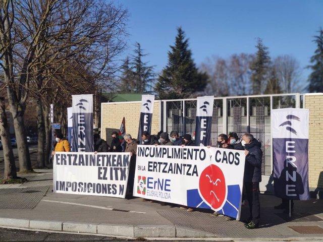 Concentración de ErNE en Vitoria