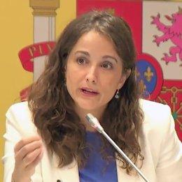 Directora general del Plan de Recuperación, Rocío Frutos.