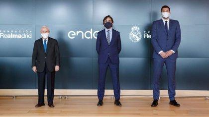 Endesa renueva su colaboración con la Fundación Real Madrid por undécima temporada consecutiva