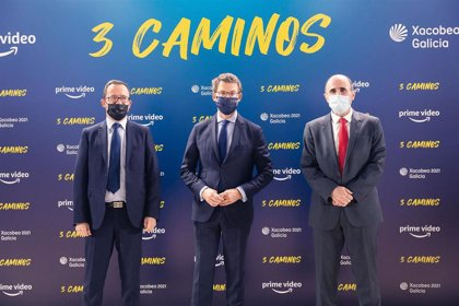 La Junta promociona el Camino de Santiago a su paso por CyL en la serie de ficción '3 caminos' que se estrena el viernes