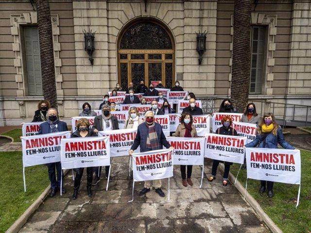 Juristes a les portes de l'Icab a favor de l'amnistia