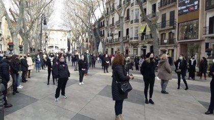El sector de la peluquería y la estética se concentra en Palma a pesar de la prohibición de Delegación del Gobierno