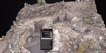 El yacimiento de La Fortaleza (Gran Canaria) se 'traslada' a la web a través de una exposición virtual