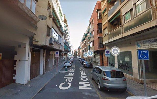 Calle Cardenal Monescillo de Ciudad Real