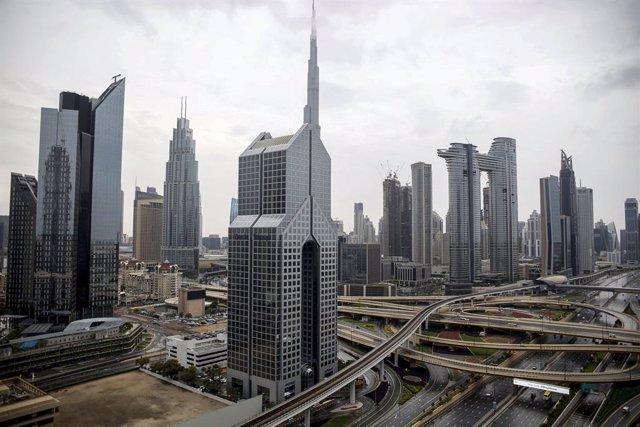 La ciudad de Dubái, en Emiratos Árabes Unidos (EAU), durante la pandemia de coronavirus