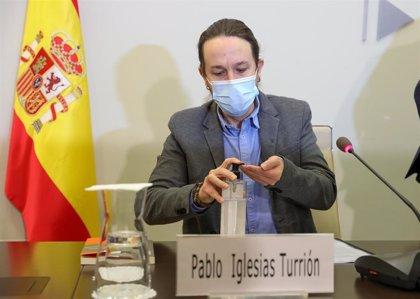 Iglesias anuncia un foro consultivo con sindicatos, empresas y sociedad civil para mejorar la economía de los cuidados