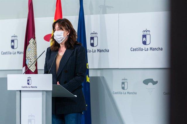 La consejera portavoz Blanca Fernández