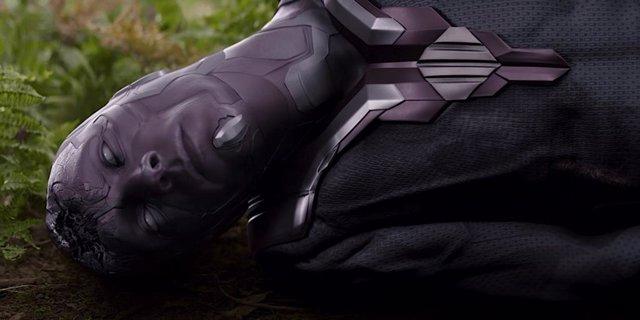 Visión en Vengadores: Infinity War