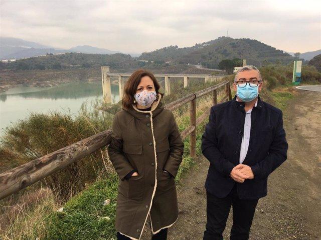 Np Y Fotos Delegada Del Gobierno Edar Viñuela Nuevos Recursos Hídricos