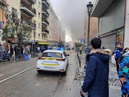 Explosión en Madrid | Directo: La demolición controlada de las plantas superiores será mañana a primera hora
