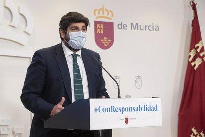 El presidente del Gobierno murciano realizará una declaración institucional