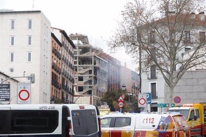 El edificio donde se ha producido la explosión pertenece a la parroquia de La Paloma y es la vivienda de los sacerdotes