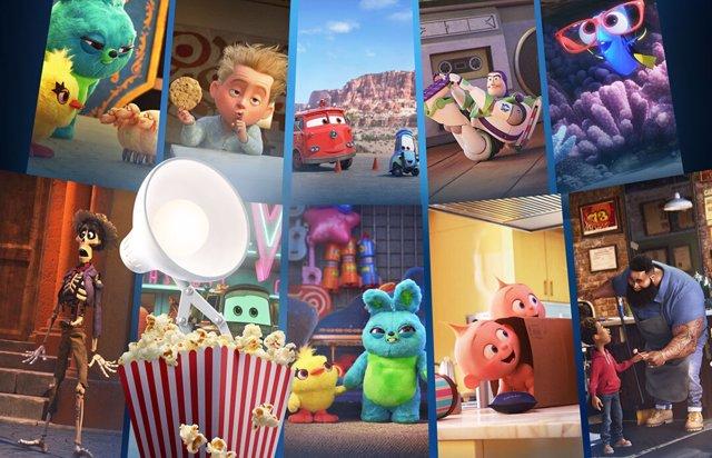 Palomitas: La antología de cortos de los personajes estrella de Pixar en Disney+
