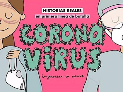 Ana Polegre, creadora de Enfermera en apuros, publica 'Coronavirus', un libro que hará historia