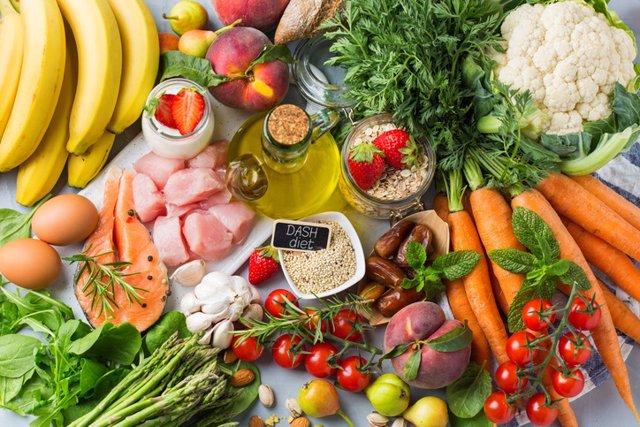 Dieta mediterránea, comida saludable