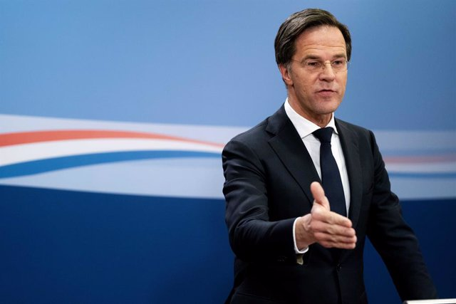 15 January 2021, Netherlands, The Hague: Mark Rutte, Prime Minister of the Netherlands, speaks during a press conference. The Dutch Government has resigned just a few weeks before the parliamentary elections in March 2021. Photo: Bart Maat/ANP/dpa