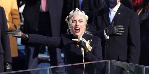 1. VÍDEO: Así fue la actuación de Lady Gaga y Jennifer López en la investidura de Joe Biden