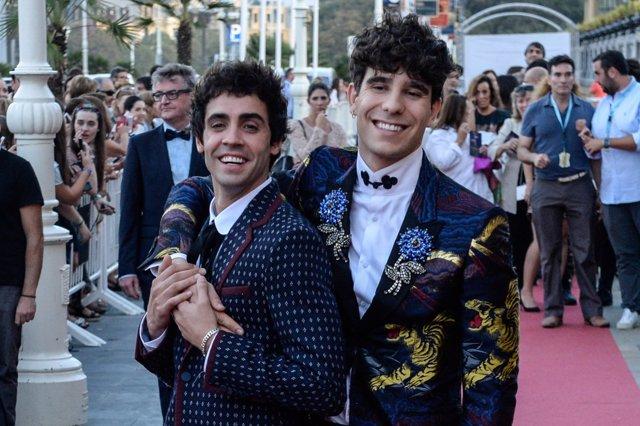 Los Javis en el Festival de San Sebastián