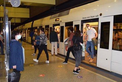 Metrovalencia y TRAM d'Alacant incorporan 120 auxiliares covid-19 para controlar aforos e informar de medidas sanitarias