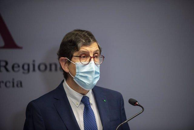 El conseller de Salut de Múrcia, Manuel Villegas