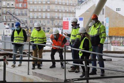 Ageinco visita las obras del centro comercial Vialia Estación de Vigo