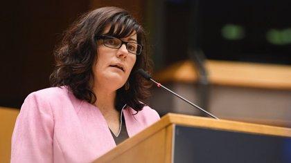 La eurodiputada Isabel García (PSOE) celebra la aprobación del informe de revisión de la Red Transeuropea de Transporte