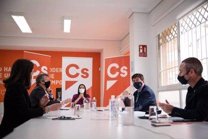 Cs Andalucía completa su Comité Autonómico con Marín como coordinador y Bosquet, Salvador y Romero en su Junta Directiva