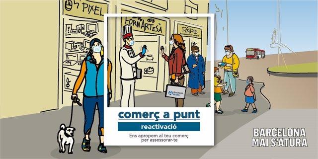 Barcelona Activa ofereix assessorament gratuït a comerços per reactivar-los després de la crisi