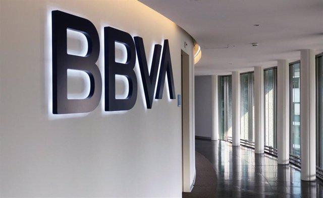 Oficina de BBVA en Zurich (Suiza).