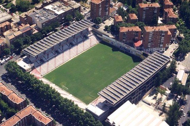 Estadio de Vallecas del Rayo Vallecano de Madrid